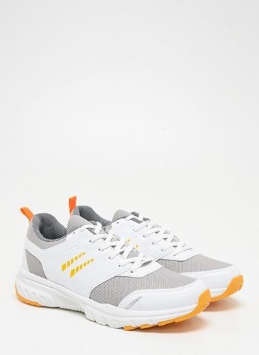 F By Fabrika Erkek Siyah Sneakers JAMES Beyaz